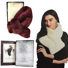 Something Special Womens Luxury Super Soft Faux Fur Winter Scarf Wrap Accessory