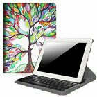 Apple iPad 4/3/2 Rotating Stand Case Cover Built-in Wireless Bluetooth Keyboard