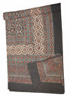 Indian Beau tiful Block Print King size Cotton Bedspread With Pillow Bed sheet6