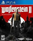 Wolfenstein II 2 The New Colossus PS4 SONY PlayStation 4 2017 BRAND NEW SEALED