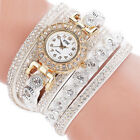 Girls Fashion Casual Analog Quartz Womens Watches Rhinestone  Bracelet Watch