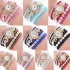 Jewelry Watches - Girls Fashion Casual Analog Quartz Womens Watches Rhinestone  Bracelet Watch
