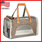 Внешний вид - Airline Approved Soft Sided Pet Dog Cat Carrier Pet Travel Bag Fits Under Seat