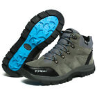 Mens Winter Big Size Hiking Boots Non Slip Wearable Trail Trekking Outdoor Shoes
