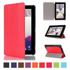 lights for kindle - For Amazon Kindle Fire 7 (5th Gen) 2015 Leather Magnetic Flip Smart Stand Case