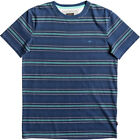 Quiksilver Baree Brant Mens T-shirt - Dark Denim All Sizes