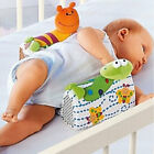 SOZZY Baby Sleep Positioner Pillow Animal Print Anti Roll Infant Toddler Cushion