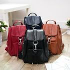 Casual Genuine Leather Women Backpack Lady's School Bag Daily Multipurpose Bag