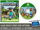 Minecraft Cake Topper X Box Game and Disc Printed on Icing, 3 sizes
