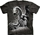 Black Dragon Dragons T Shirt Adult Unisex The Mountain