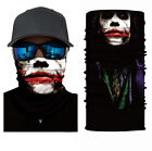 Skull Cycling Motorcycle Head Scarf Neck Warmer Face Mask Ski Balaclava Headband <br/> ✅700+ Pattern Choose✅High Quality✅Picture Custom