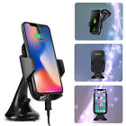 Qi Wireless Car Charger Phone Mount Holder Cradle For Google Cell Phones