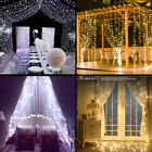 304 LED String Lights Warm White Fairy Lights Waterproof for Bedroom Xmas Decor