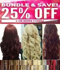 Real Thick Clip In Hair Extensions Long Curly Full Head UK Hair Extentions