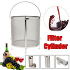 Homebrew Beer Wine Brewing Dry Hop Hopper Filter Grain Basket Strainer Kit