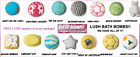Lush Bath Bombs: CHOOSE CHRISTMAS SPECIAL BATH BOMBS. SEALED. FREE LUSH SAMPLES