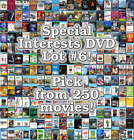 Special Interests DVD Lot #6: Pick Items to Bundle and Save!