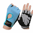 Half Finger Gym Sports Gloves Body Building Training Anti-skid Unisex Pink Glove