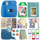 Fuji Instax Mini 9 Fujifilm Instant Camera All Colors + 10 Film Deluxe Bundle <br/> ** HOLIDAY SPECIAL!!! **