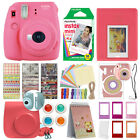 Fuji Instax Mini 9 Fujifilm Instant Camera All Colors 10 Film Deluxe Bundle