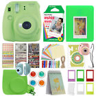 Fuji Instax Mini 9 Fujifilm Instant Camera All Colors + 10 Film Deluxe Bundle