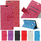 Lovely Cartoon Pattern Card Wallet PU Leather Magnetic Flip Case For Cell Phones