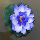 Home Garden Artificial Fake Lotus Pond Fish Tank Water Floating Flowers Ornament
