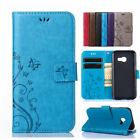 For Samsung Galaxy A7 A5 A3 2016 2017 Wallet Butterfly Flip Leather Case Cover