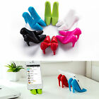 Universal Silicone High Heeled Shoes Shape Mobile Cell Phone Holder Table Stand