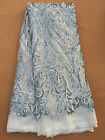 african lace fabric with sequins , amazing design in 5 yards african lace fabric
