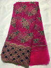 5 Yards French net lace ,african lace fabric in 8 colors for african party dress