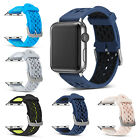 Soft Silicone Replacement Strap Loop Sport Band For Apple Watch 42mm/38mm iWatch