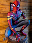 USA 2018 Avengers: Infinity War Spider-Man Costume Halloween Fullbody Tights NEW
