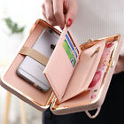 Women Long Wallets Fashion Casual Polyester Large Capacity Pillows Cards Holders