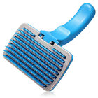 AU Pet Dog Cat Brush Comb Fur Grooming Hair Quick Clean Slicker Shedding Removal