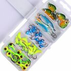 40pcs/lot Winter ice Fishing Lures Spoon Hard Bait Lead Head Ice Jigs