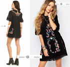 FREE PEOPLE  SMALL Perfectly Victorian Dress BLACK New Tags