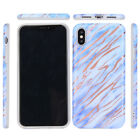 Shockproof Marble Pattern Case For iPhone X 8 7 6s 6 Plus Glossy Soft TPU Shell