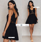 FREE PEOPLE  SMALL  ILektra Crochet Mini Dress New Tags