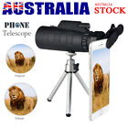 50X60 Zoom Monocular Telescope HD Lens Travel Hiking Match + Phone Clip + Tripod