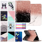 Cute Painted Magnetic Leather Flip Wallet Case Cover For Ipad 9.7 2017/mini/air
