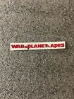 Paper Crafts - Spine Magnet Clear Sticker W Title For War Planet Of The Apes Steelbook