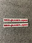 Spine Magnet & Clear Sticker w/ title for War Planet of the apes steelbook