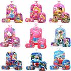 Disney 3D Luggage Suitcase Set Kids 17 Inch Trolley Cabin Travel Hard 6 Wheels