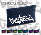 Unique All Name Personalised Graffiti Fr Navy Retro Cool Pencil Case School Gift