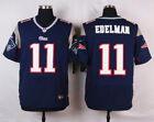 Julian Edelman Jersey 11 New England Patriots Blue Home Mens M L XL USA