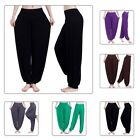 Women Loose Belly Gypsy Dance Yoga Pants Boho Harem Wide Club Trousers Sports