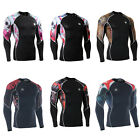 FIXGEAR C2L Compression shirt base layer skin tight under training  fitness 2