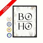 Boho Shabby Chic White Decorative Office Art Picture Print Artworks Gifts Ideas
