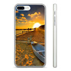 Best SE Beach Boats - BEACH BOAT SUNSET HARD CLEAR PHONE CASE COVER Review